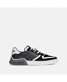 Men's Coated Canvas Sneakers