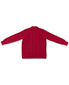 Cotton Cable-Knit Mock-Neck Sweater, Created for Macy's