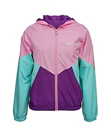 Little Girls Color Block Windbreaker