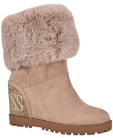 Women's Paulie Lug Sole Wedge Boots