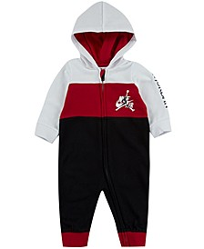 Baby Boys Jumpman Classics Full-Zip Hooded Coverall
