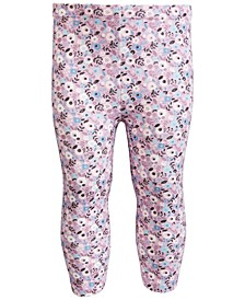 Toddler Girls Ditsy Floral-Print Leggings, Created for Macy's