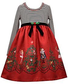 Baby Girls Nutcracker Babydoll Dress