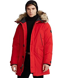 Men's Faux Fur–Trim Down Parka