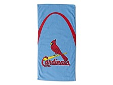 "St. Louis Cardinals 30x60 ""Powder Arch"" Beach Towel"