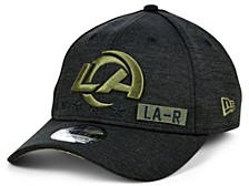 Los Angeles Rams 2020 On-field Salute To Service 39THIRTY Cap