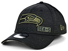 Seattle Seahawks 2020 On-field Salute To Service 39THIRTY Cap
