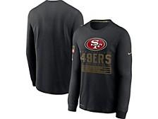 San Francisco 49ers 2020 Men's Salute to Service Long Sleeve T-Shirt