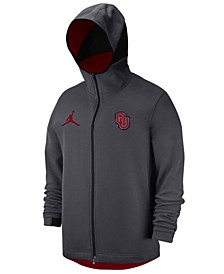 Oklahoma Sooners Men's Dri-FIT Showtime Hooded Full-Zip Sweatshirt