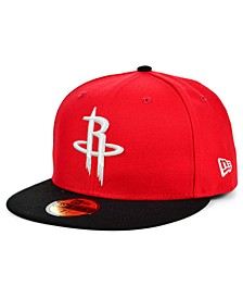Houston Rockets Basic 2-Tone 59FIFTY Cap