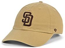 San Diego Padres Khaki CLEAN UP Cap