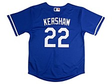 Los Angeles Dodgers Clayton Kershaw Baby Official Player Jersey