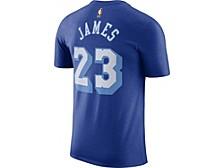 Los Angeles Lakers Lebron James Men's Hardwood Court Player T-Shirt