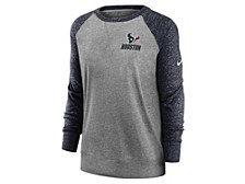 Houston Texans Women's Gym Vintage Crew Sweatshirt