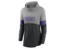 Minnesota Vikings Women's Cowl Neck Long Sleeve Shirt