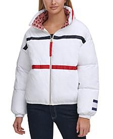 Contrast-Trim Jacket