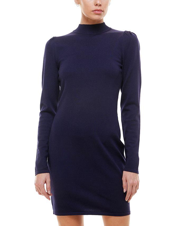 Planet Gold - Juniors' Sweater Dress