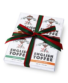 Natural Chocolate English Toffee Gift Set