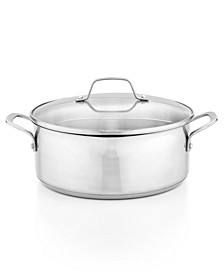 Classic Stainless Steel 5 Qt. Covered Dutch Oven