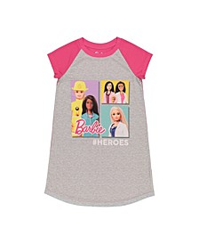 Barbie Big and Little Girls Dorm Top
