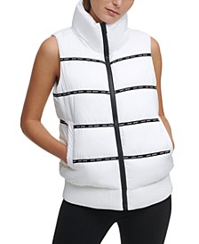 Sport Logo Puffer Vest
