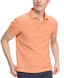 Men's Ivy Custom-Fit Neon Washed Polo Shirt