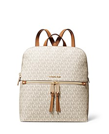 Rhea Zip Medium Slim Signature Backpack