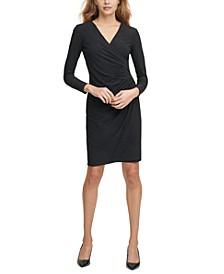 Side-Ruch Sheath Dress