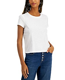 INC Plus Size Cotton Embellished Top, Created for Macy's