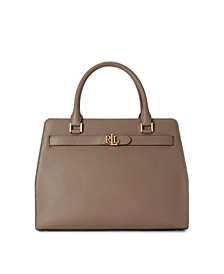 Leather Medium Fenwick Satchel