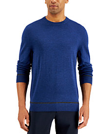 Alfani Men's Crewneck Sweater, Created for Macy's