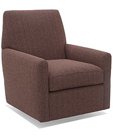 """Eliqueen 31"""" Fabric Swivel Glider, Created for Macy's"""