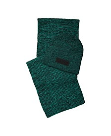 Men's Scarf and Beanie Set