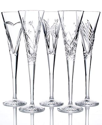 Waterford Crystal Gifts, Wishes Toasting Flutes Collection