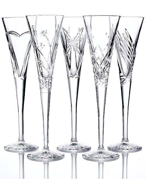 Waterford Crystal Gifts Wishes Toasting Flutes Collection Macys