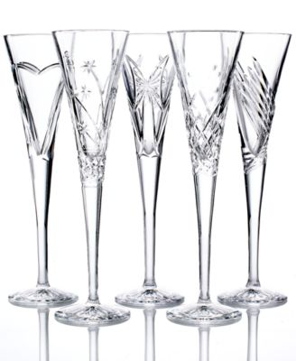 waterford crystal gifts wishes toasting flutes collection - Waterford Crystal Wine Glasses