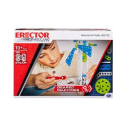 Erector by Meccano, Geared Machines S.t.e.a.m. Building Kit with Moving Parts