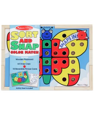 Melissa and Doug Kids Toy, Sort and Snap Color Match 1130406
