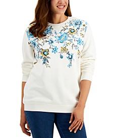 Tapestry Printed Sweatshirt, Created for Macy's