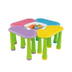 42 Piece in 1 Table With Unipetal Box Building block
