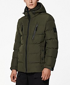 Montrose Men's Down Filled Mid Length Puffer Jacket