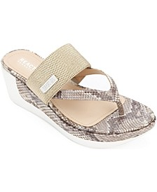 Women's Pepea Cross Wedge Sandals