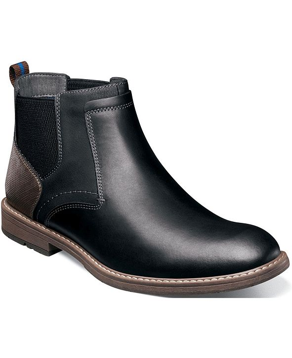 Nunn Bush Men's Fuse Plain-Toe Chelsea Boots