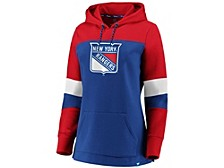 New York Rangers Women's Colorblocked Fleece Sweatshirt