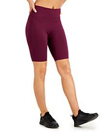 High-Rise Pocket Bike Shorts, Created for Macy's