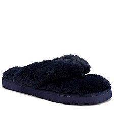 Women's Hurry Fuzzy Flip Flop Slippers