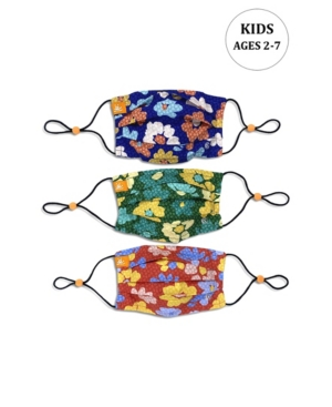x Best Friends Unisex Kids Flower Pleated Reversible Mask