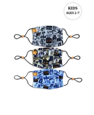 x Best Friends Unisex Kids Best Friends Pleated Reversible Mask