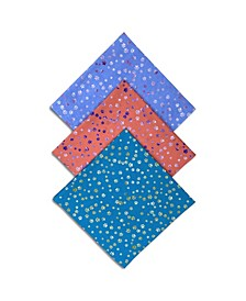 x Best Friends Unisex Scattered Paws Bandanas, 3 Pack