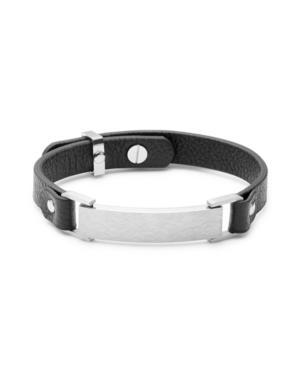 Men's Slim Adjustable Id Bracelet